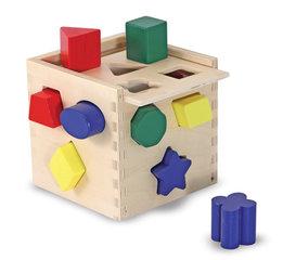 Divers houten speelgoed