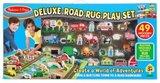 Melissa & Doug Speelkleed Road Rug 100 X 91 Cm