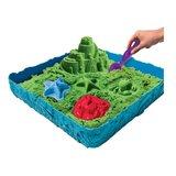 Kinetic sand box in 3 kleuren_