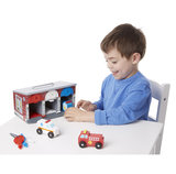 Melissa & Doug Garage Lock & Roll 7-delig_