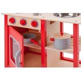 New Classic Toys houten keuken rood