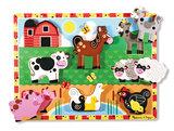 Melissa & Doug chunky puzzel boerderij