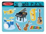 Melissa & Doug Houten Puzzel met Geluid Muziekinstrumenten