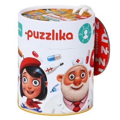 Puzzlika - leer de beroepen oa Bouwvakker