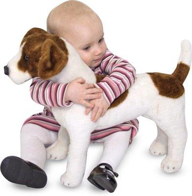 Melissa & Doug Pluche Jack Russell Terrier
