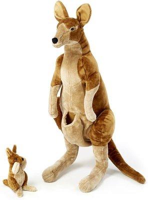Melissa & Doug kangoeroe met baby Joey