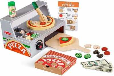 Melissa & Doug houten pizzaoven