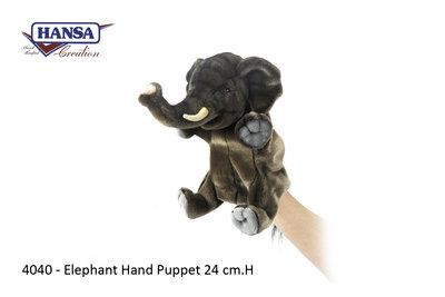 Hansa Handpop Olifant