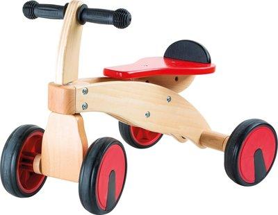 Smal Foot Red racer fietsje