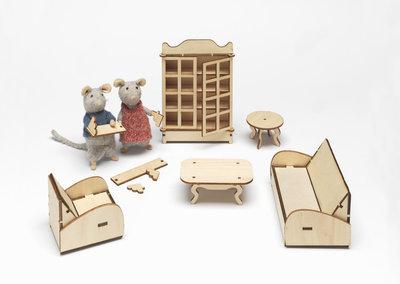 Het Muizenhuis – Woonkamer meubelkit