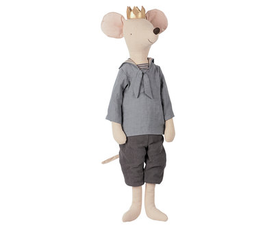 Maileg Mega mouse prins