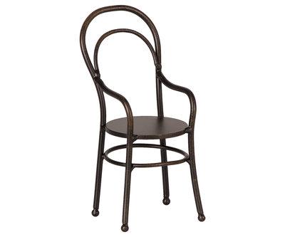 Maileg metalen stoel zwart