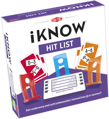 iKNOW Hit List - bordspel