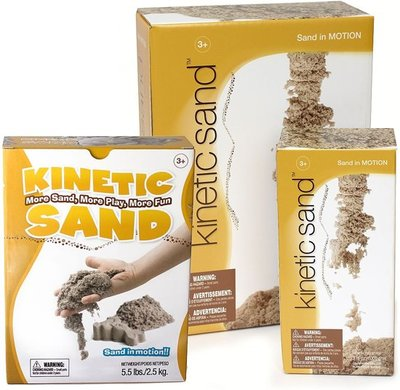 Kinetic sand, speelzand