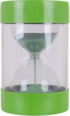 Krukje met Zandloper Groen - 1 minuut