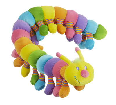 Melissa & Doug - Longfellow Caterpillar - Pluche