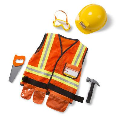 Melissa & Doug, verkleedkleding bouwvakker