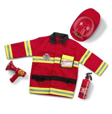 Melissa & Doug verkleedkleding brandweer