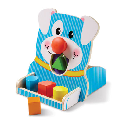 Melissa & Doug First Play Houten vormenstoof