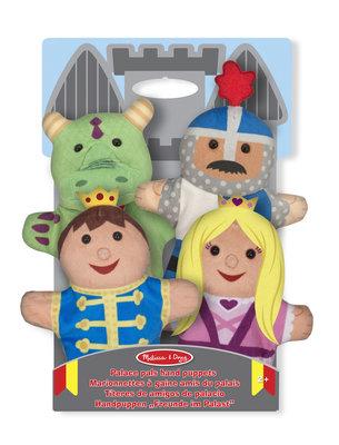 Melissa & Doug handpop kasteelfiguren