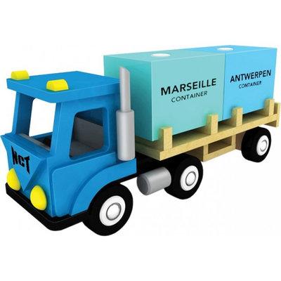 New Classic Toys Vrachtwagen met 2 Containers  Haven Lijn