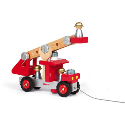Janod, brandweerwagen trekfiguur
