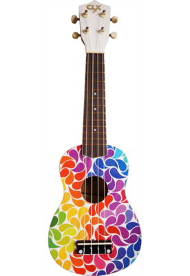 Calista Ukelele Rainbow Dripp