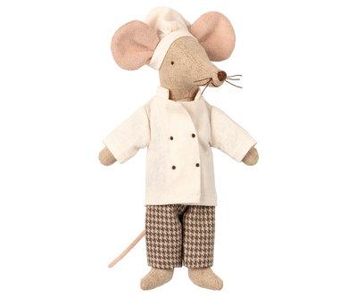 Maileg muis chef-kok