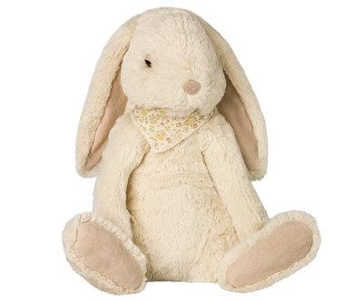 Maileg Fluffy Bunny  off white