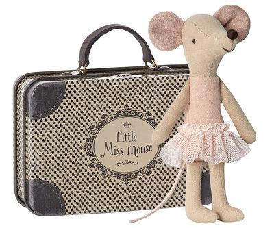 Maileg ballerina muis in koffer