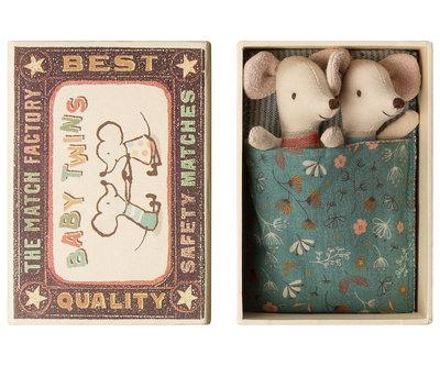 Maileg 2 muisjes in een doosje