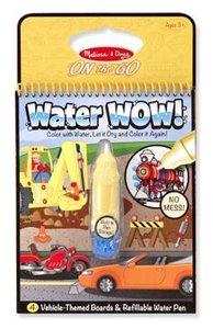Melissa & Doug Water Wow voertuigen