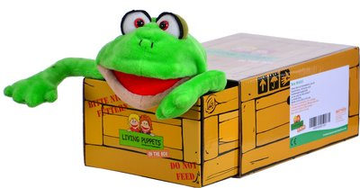 Living Puppets in a box-Herr teichmeister