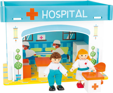 Small Foot Hospitaal speel-set