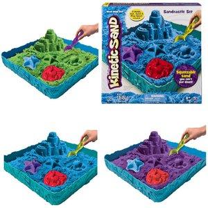Kinetic sand box in 3 kleuren