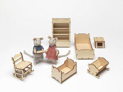 Het Muizenhuis meubelkit  KINDERKAMER