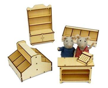 Het Muizenhuis meubelkit  WINKEL