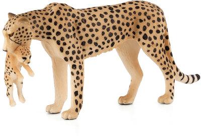 Animal Planet Cheetah met jong
