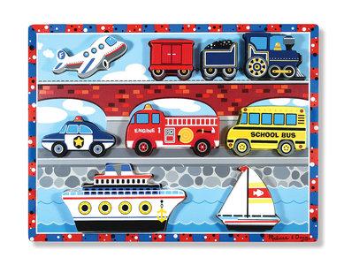 Melissa & Doug chunky puzzel vervoer