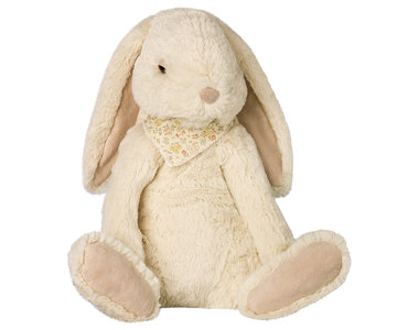 Maileg Fluffy Bunny  off white