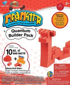 MadMattr Quantum Builders Pack Rood + Brick Maker (283 gram)