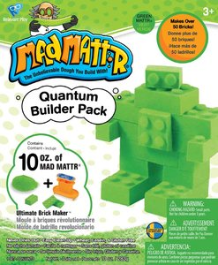 MadMattr Quantum Builders Pack Groen + Brick Maker (283 gram)